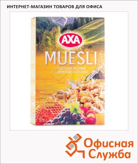 Мюсли Axa фрукты/орехи, 375г