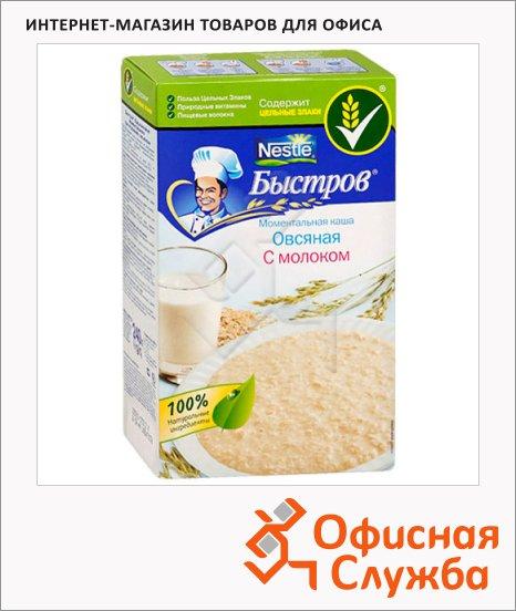 фото: Каша овсяная Быстров с молоком 6шт x 40г