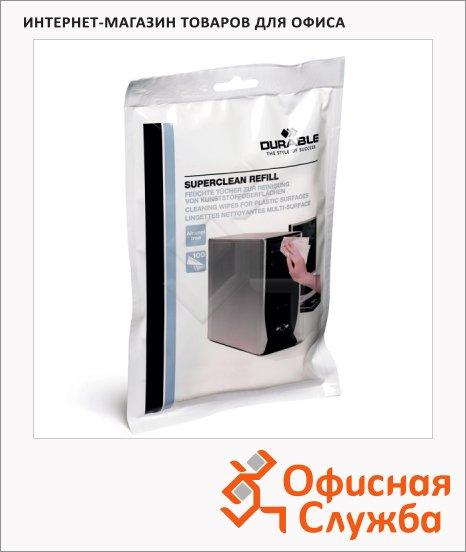 Запасной блок салфеток Durable Screenclean 100 шт/уп, 5709-02