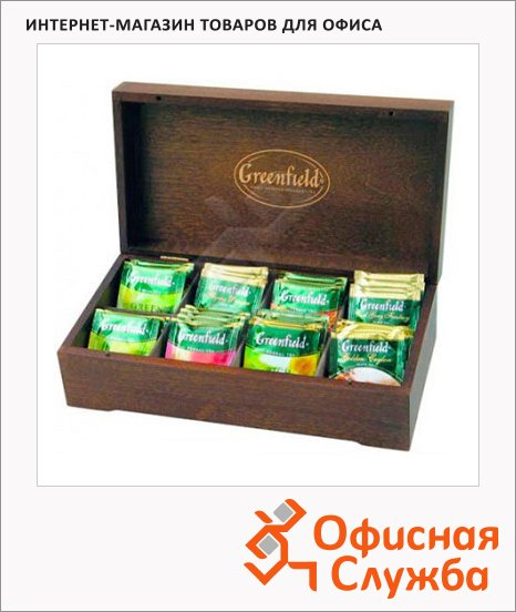 фото: Набор чая Greenfield 8 сортов 96 пакетиков