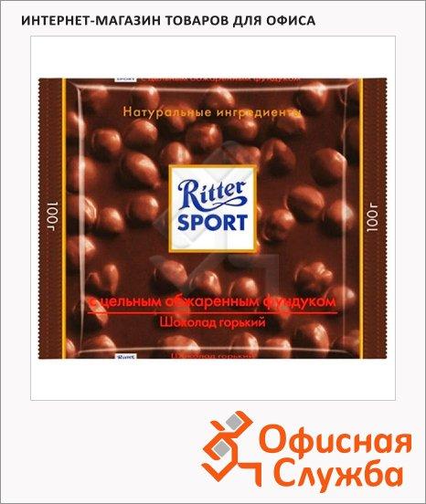 фото: Шоколад 100г с цельным фундуком горький