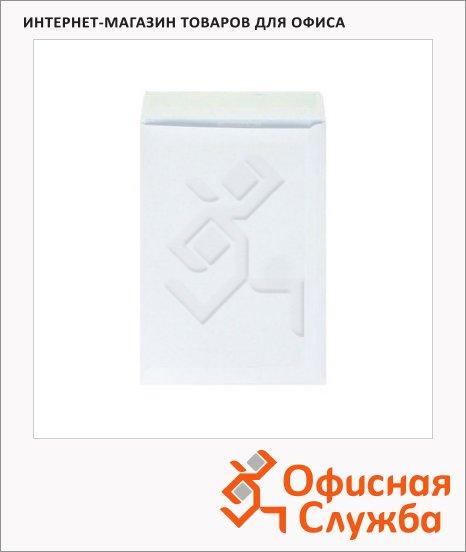 фото: Пакет почтовый бумажный плоский Businesspack B4 белый 250х353мм, 120г/м2, стрип, 50шт