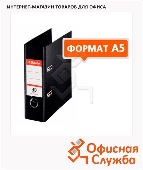Папка-регистратор А5 Esselte №1 Power черная, 75 мм, 468670