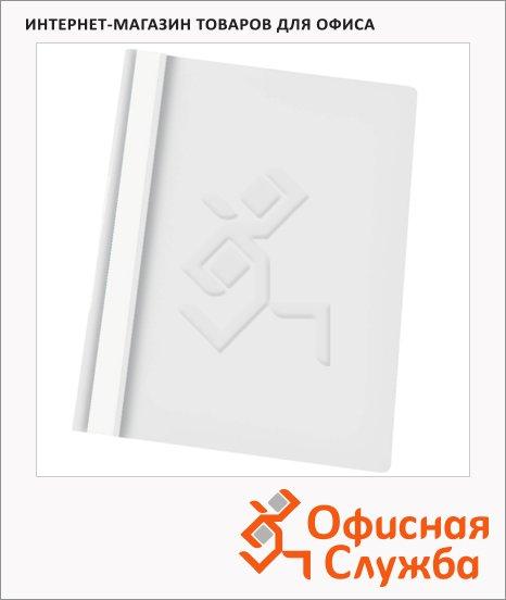 Скоросшиватель пластиковый Esselte белый, А4, 28321