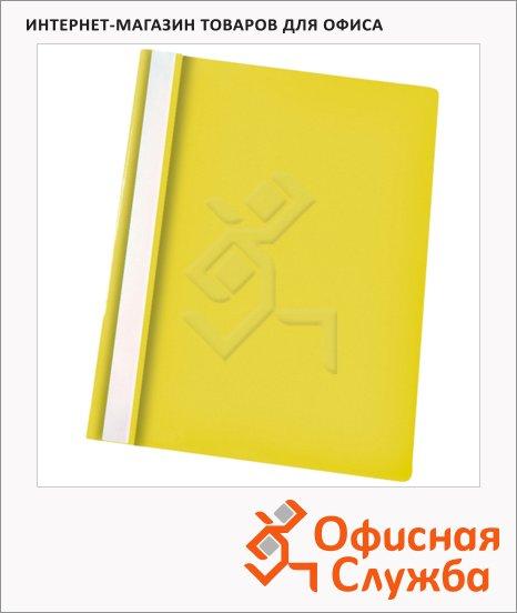 Скоросшиватель пластиковый Esselte желтый, А4, 28318