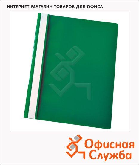 Скоросшиватель пластиковый Esselte зеленый, А4, 28317