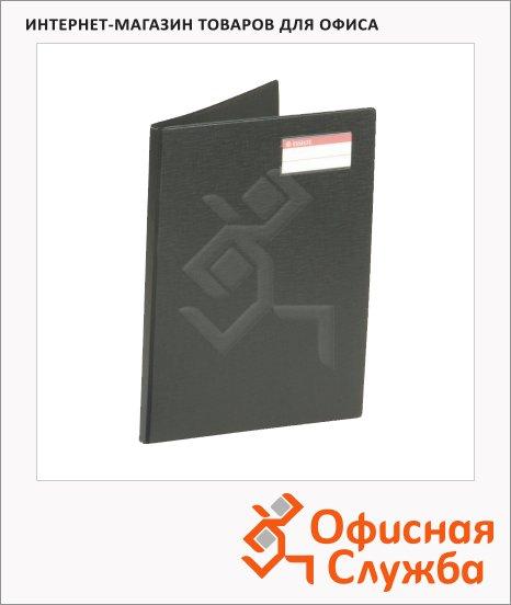 Пластиковая папка с зажимом Esselte черная, А4, 17мм, 27347