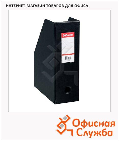 Накопитель вертикальный для бумаг Esselte А4, 100мм, черный, 56077