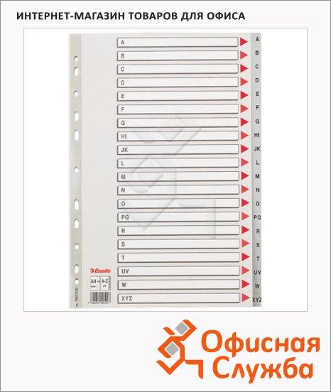 Буквенный разделитель листов Esselte 20 разделов, А4, по алфавиту A-Z, 100112