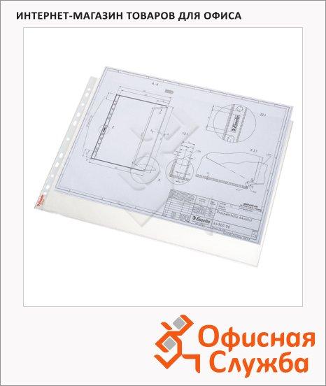 Файл-вкладыш А3 Esselte Standart 85 мкм, 10 шт/уп, 47182
