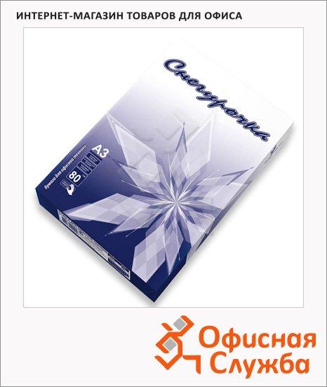 фото: Бумага для принтера Снегурочка А3 500 листов, 80г/м2, белизна 146%CIE