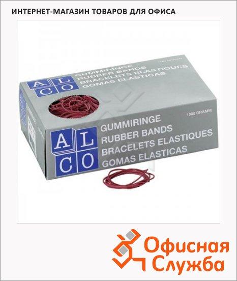 Резинки для денег Alco 130х4мм, 500г, красные, 755/811518