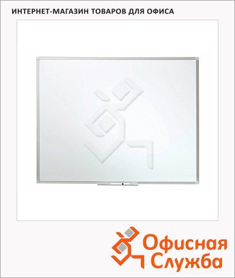 Доска магнитная маркерная Esselte 500804 90х120см, белая, лаковая, алюминиевая рама