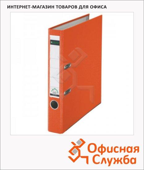 Папка-регистратор А4 Leitz оранжевая, 50 мм, 10151245