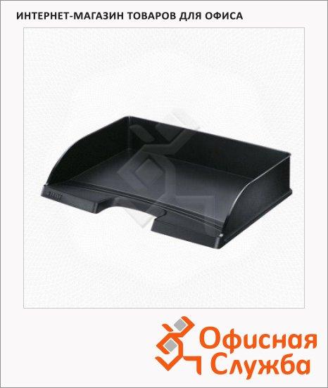 фото: Лоток горизонтальный для бумаг Leitz Plus А4 черный, 52180095