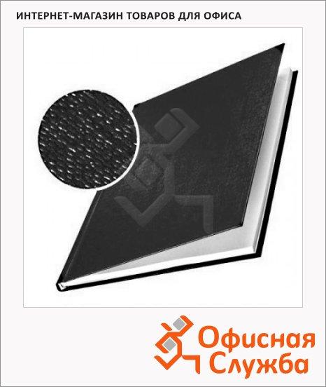 Обложки для переплета картонные Leitz ImpressBind черные, А4, 10шт, 176-210л, 73950095