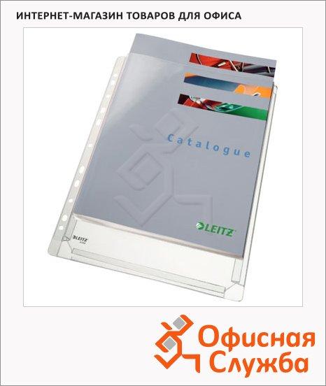 Файл-карман А4 с расширением Leitz прозрачный, 170 мкм, 10 шт/уп, 47561003