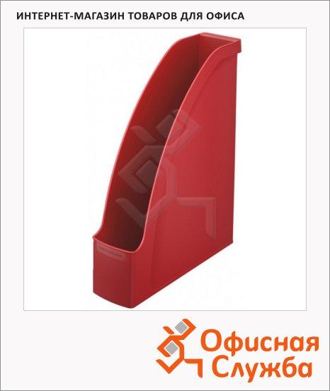 Накопитель вертикальный для бумаг Leitz Plus А4, 78мм, красный, 24760025