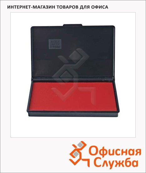 фото: Штемпельная настольная подушка Trodat 90х50мм краска на водной основе, красная