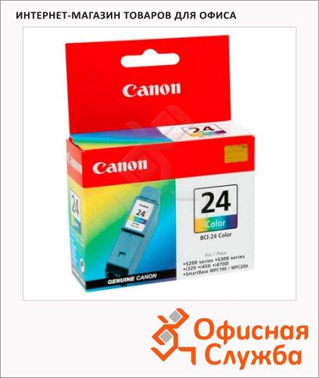 Картридж струйный Canon BCI-24С, трехцветный
