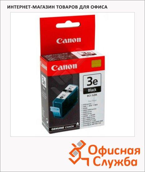 Картридж струйный Canon BCI-3BK, черный