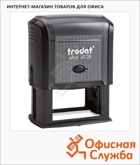 фото: Оснастка для прямоугольной печати Trodat Printy 60х33мм 4928, черная