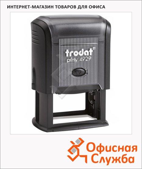 фото: Оснастка для прямоугольной печати Trodat Professional 50х30мм 4929, черная