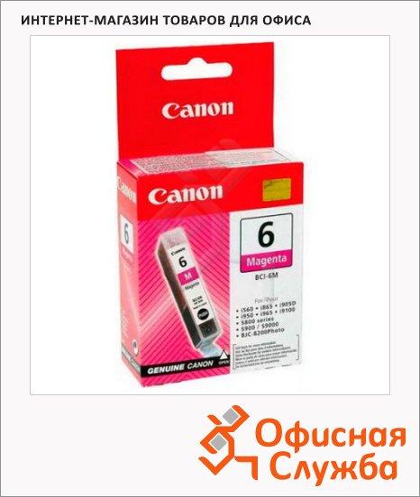 фото: Картридж струйный Canon BCI-6M пурпурный, (4707A002)