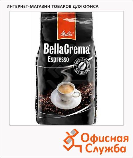 Кофе в зернах Melitta Bella Crema Espresso 1кг, пачка