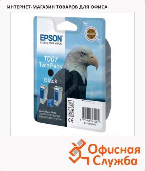 Картридж струйный Epson C13 T007401, черный