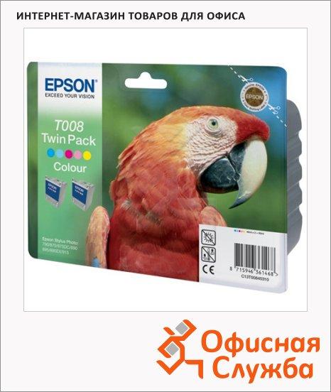 Картридж струйный Epson C13 T00840310, 5 цветов
