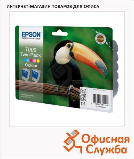 фото: Картридж струйный Epson C13 T00940210 5 цветов, 2 шт/уп