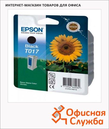 фото: Картридж струйный Epson C13 T017402 черный, 2шт/уп