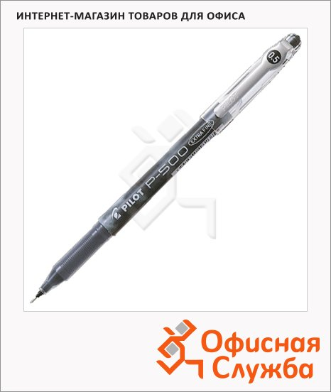 Ручка гелевая Pilot BL-P50 черная, 0.3мм