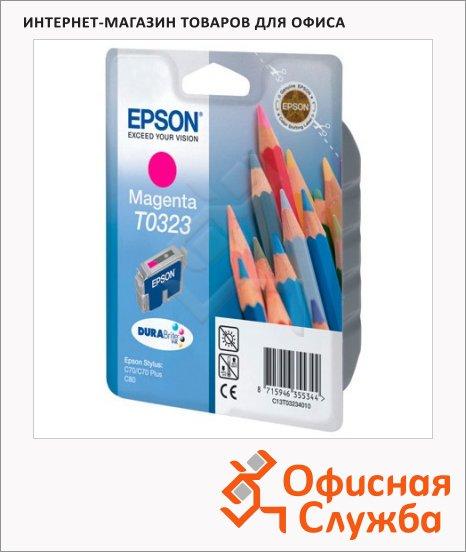 Картридж струйный Epson C13 T032340, пурпурный
