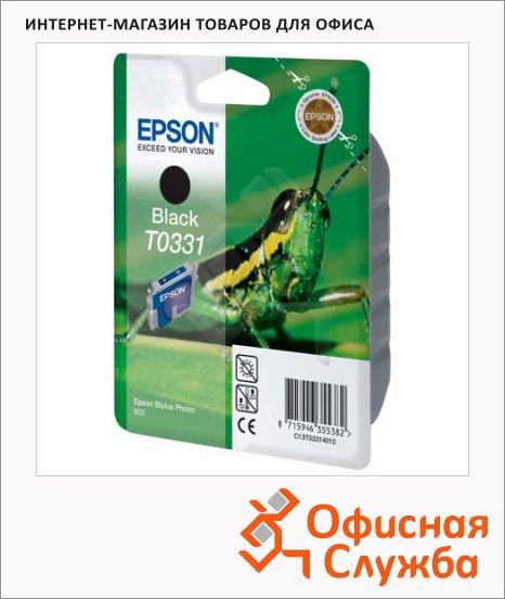 Картридж струйный Epson C13 T033140, черный