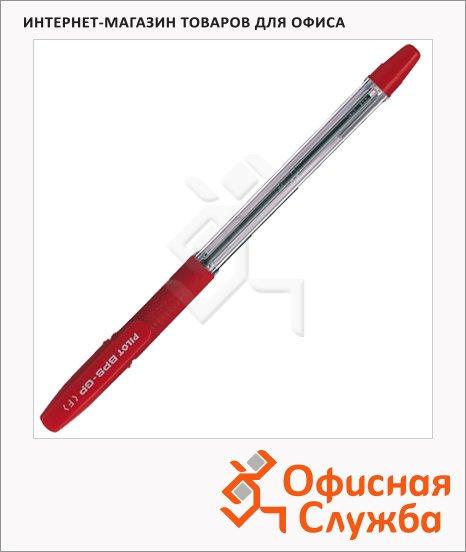 Ручка шариковая Pilot BPS-GP-F красная, 0.3мм