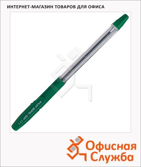 Ручка шариковая Pilot BPS-GP-F зеленая, 0.3мм