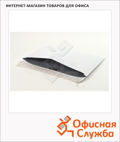 Конверт почтовый Officepost С4 белый, 229х324мм, 90г/м2, 250шт, стрип