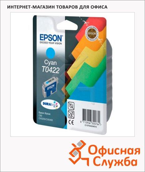 фото: Картридж струйный Epson C13 T042240 голубой