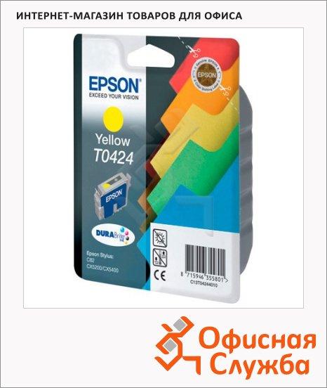 фото: Картридж струйный Epson C13 T042440 желтый