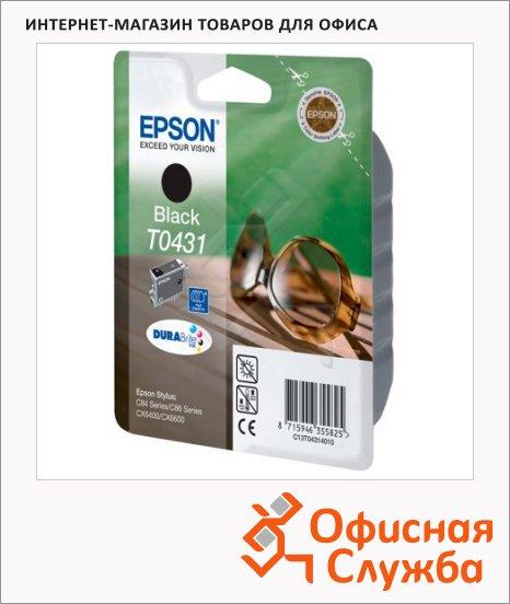 Картридж струйный Epson C13 T043140, черный