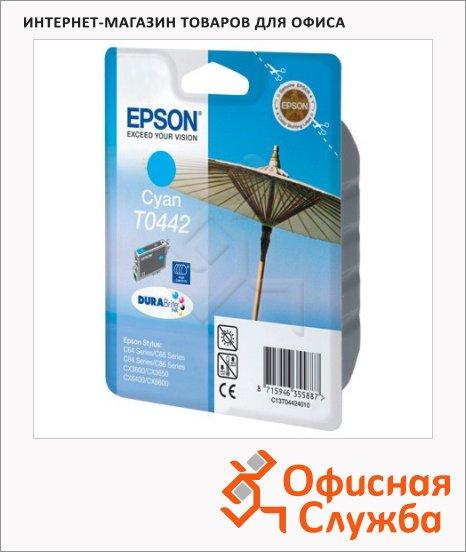 Картридж струйный Epson C13 T044240, голубой