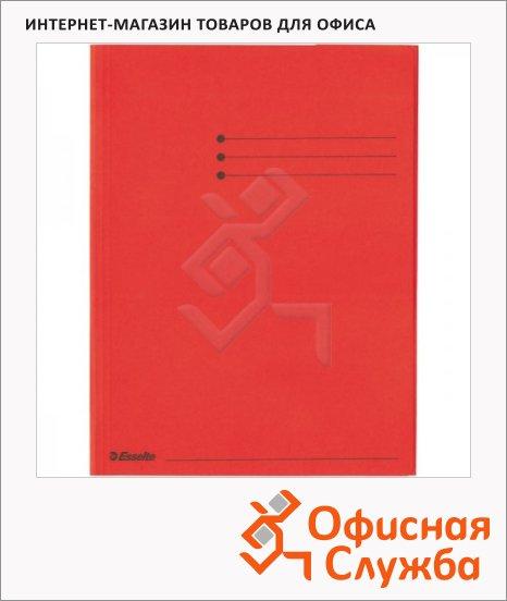 Папка картонная Esselte красная, А4, 44228