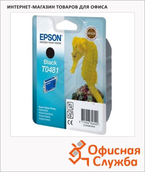 фото: Картридж струйный Epson C13 T048140 черный