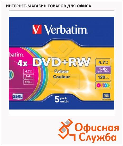 Диск DVD+RW Verbatim