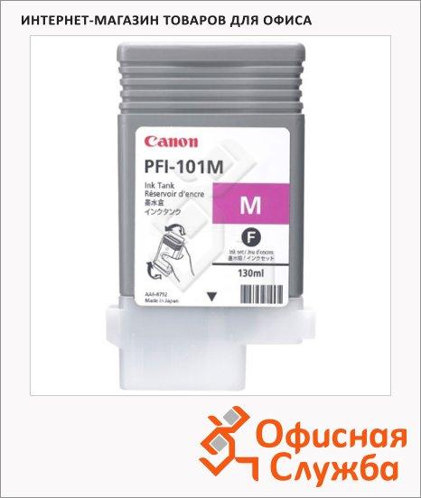 Картридж струйный Canon PFI-101М, пурпурный