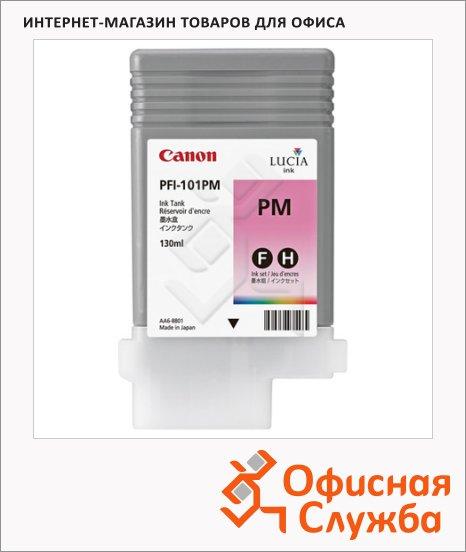 фото: Картридж струйный Canon PFI-101PM светло-пурпурный
