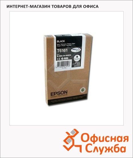 фото: Картридж струйный Epson C13 T616100 черный