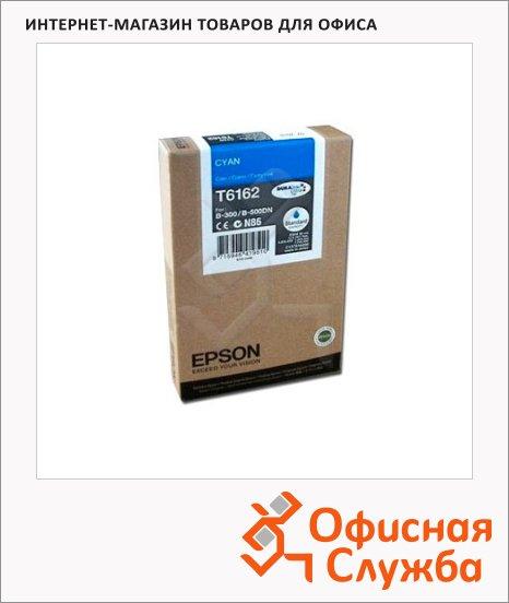 фото: Картридж струйный Epson C13 T616200 голубой